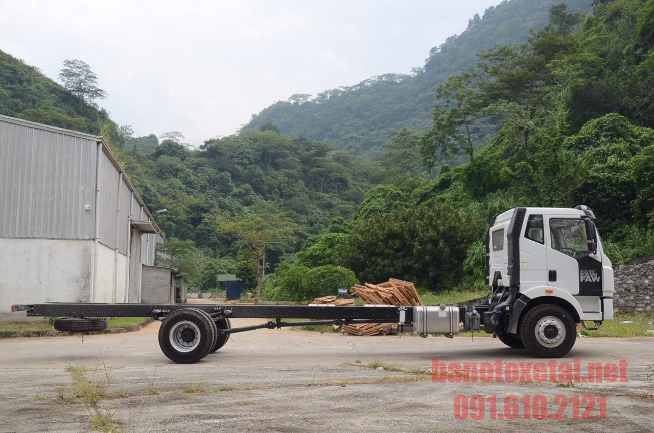 Cabin Chassis Xe tải FAW 7t5 thùng 9m5